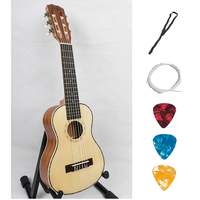 Guitalele Ukulele 28 Inch Acoustic Electric Hawaiian Mini Guitar 6 Strings Ukelele Guitarra Engelmann Picea Asperata Uke