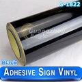 Nueva Llegada 1.06*33 m Negro Brillante vinilo De Corte/signo plotter de vinilo papel de vinilo impresora Envío Gratis