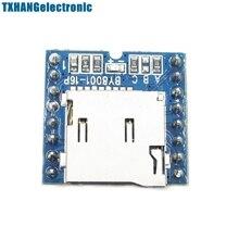 Micro sd tf u-диск by8001-16p mp3-плеер голосовой модуль плате