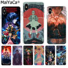 MaiYaCa Stranger Things On Sale Luxury Cool Phone Accessories Case for Apple iPhone 8 7 6 6S Plus X XS max 5 5S SE XR Cover(China)