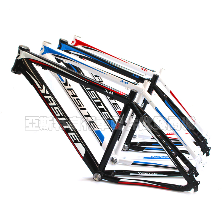 Mountain bike and road bicycle frame 26 * 17 inch mountain bike YASITE aluminum alloy disc brake aluminum alloy disc brake 8 9 10 68mm 26 17 42 52mm headset bicycle frame