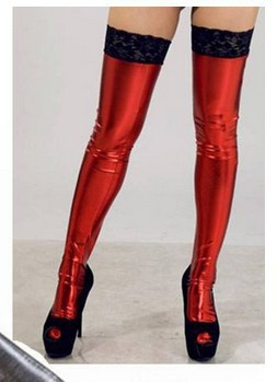 high stockings free knee Latex