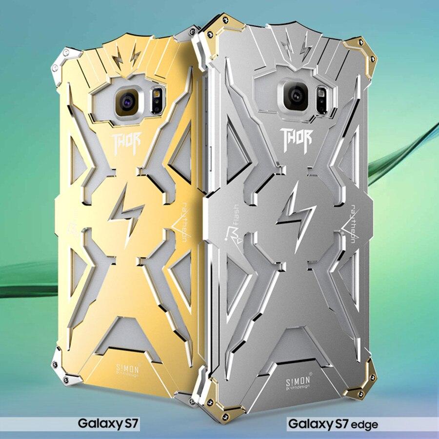 For Samsung Galaxy S3 S4 Mini S5 S6 S7 Edge Case Luxury Golden Hardcase Alumunium Oppo Find 5 Gold Original Simon Thor Iron Man Metal Aluminum Phone Cases A8 A9 E7 Note