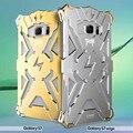 Original simon thor iron man metal de aluminio cajas del teléfono para samsung galaxy a8 a9 E7 J7 Nota 3 4 5 Borde S6 S7 + Nota 3 4 5 Borde