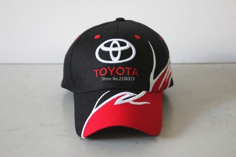 Prix pour F1 voiture de course toyota casquette de baseball Cool embroideried lettres chapeaux MOTO GP moto racing pilote équipe de mode casquette à visière