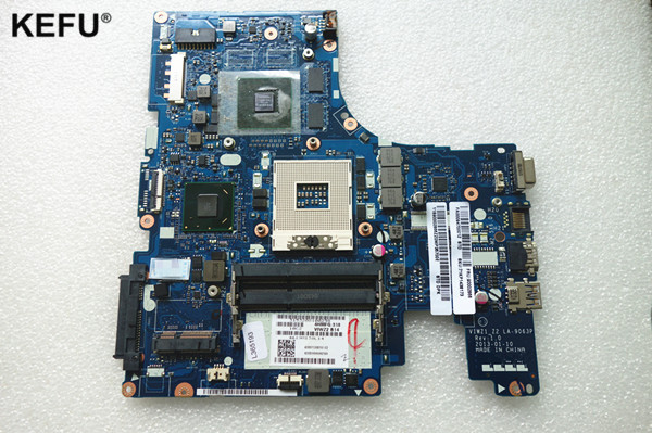 LA-9063P Suitable For Lenovo Z500 Notebook PC Motherboard HM76 N14P-GV2-B-A1 video card,tested good before send n14p gv2 s a1