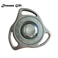 UFO Constellation Fidget Spinner Hand Spinner Metal Egypt Type EDC Spiner Tri Spinner Torqbar R188 Bearing