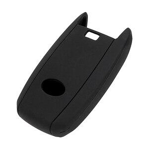 Image 2 - YOSOLO Replacement Silicone Key Bag Cover Protector Car Key Case Shell For kia rio sportage 2014 ceed sorento cerato K2 K3 K4 K5