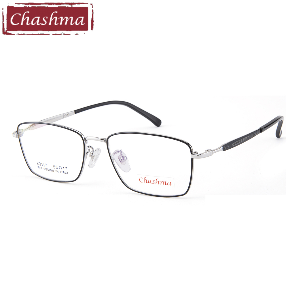 Progressive Glasses Multifocal Photochromic Eyeglasses Men Titanium Optical Recipe Glass Anti Blue Ray(China)