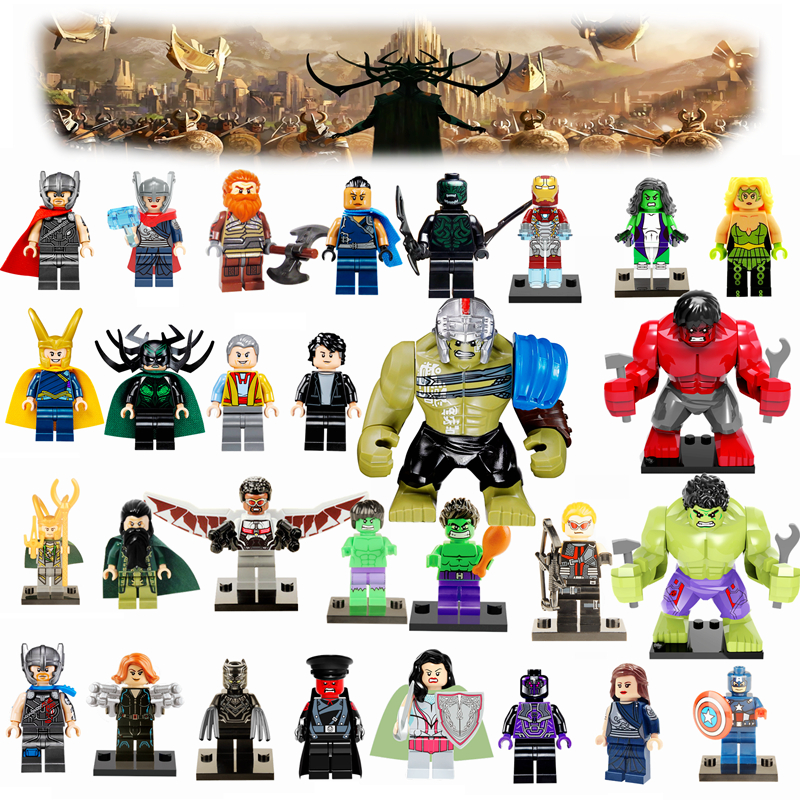 2017 newest thor 3 marvel dc super heroes avengers hulk loki iron man deadpool batman joker. Black Bedroom Furniture Sets. Home Design Ideas
