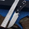 Уличный фиксированный Походный нож с прямым лезвием  для самозащиты  выживания в дикой природе  тактика охоты  инструменты для повседневног...