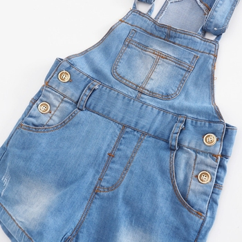 Chumhey 9M-4T Baby Rompers summer Boys Girls Shorts Jeans Babe Overalls Infant Clothes Kids Jumpsuit Child Clothing 12 M 2 Years 4
