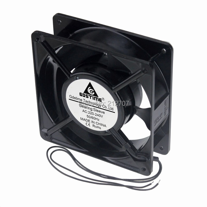 30PCS Gdstime 220V 240V 12cm 12038S 120mm x 38mm 120mm Cooler PC Computer AC Cooling Fan