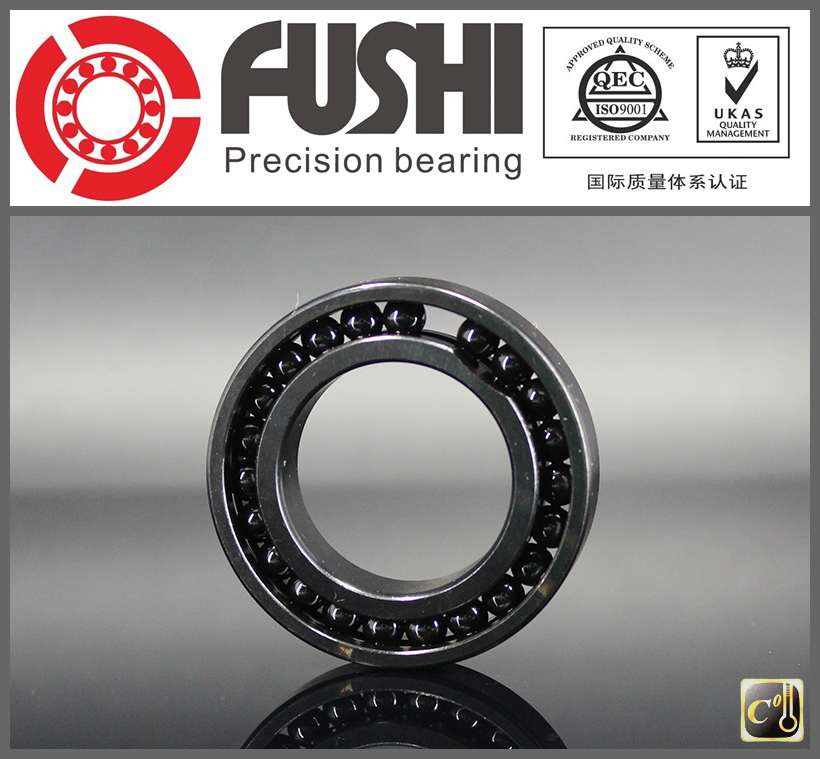 High Temperature Bearing 6806 6807 6808 6809 6810 6811 (2 Pcs) 500 Degrees Celsius Thin Section Bearings Full Ball Bearing free shipping 6806 full si3n4 p5 abec5 ceramic deep groove ball bearing 30x42x7mm 61806 full complement