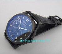 43mm parnis merk Automatische Self-Wind machines beweging PVD case Mechanische horloges mannen horloges groothandel o37