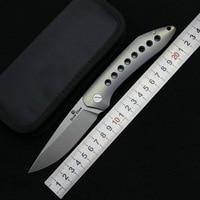 LOVOCOO Летающая акула s35vn лезвие Титан ручка Флиппер Складной нож Открытый Отдых EDC Инструменты Охота Пеший Туризм карманные ножи