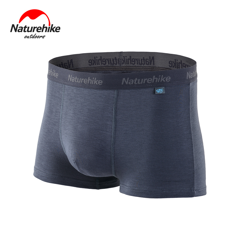 Promotion NatureHike-Breathable Perspiration Antibacterial Function Men Sports Quick-Drying Underwear Boxer Shorts цена