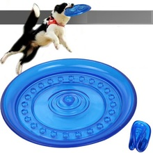 Fantastic Pet Product Natural Rubber Material Pet Dog Toy Frisbee Dog Training Free Shipping