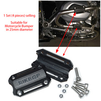 25mm Motorcycle Bumper Engine Protective Guard Crash Bars Decorative Block Dismantling Suitable For BMW R1200GS LC