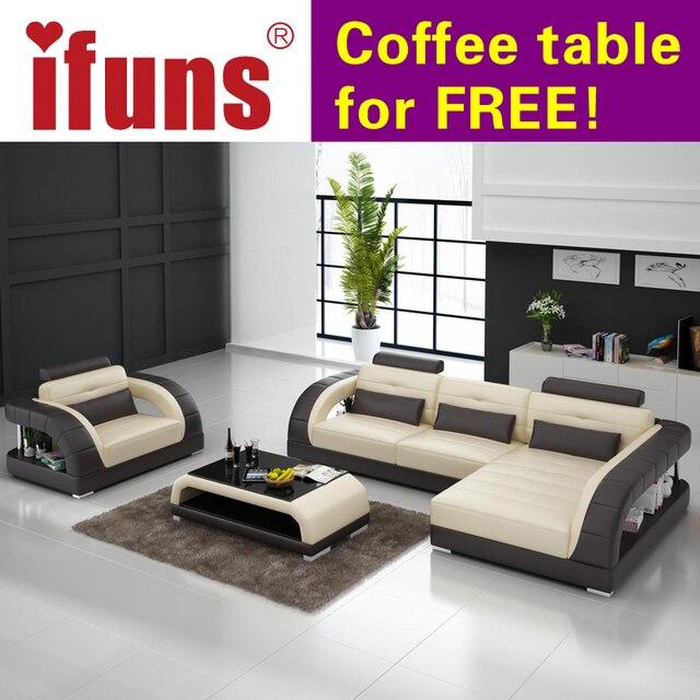 Ifuns Französisch Sitzgruppe Wohnzimmer Möbel, Echtes Leder Lounge Sofa Mit  Sofa Chesterfield Sofagarnitur