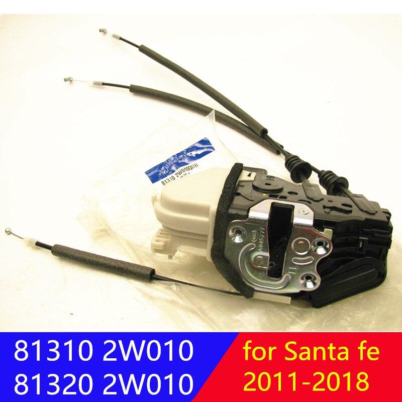 Genuine Front  Door Lock Actuator Motor Driver Side Latch Release Reardoor for hyundai Santa fe 2013-2018 813102W010 813202W010