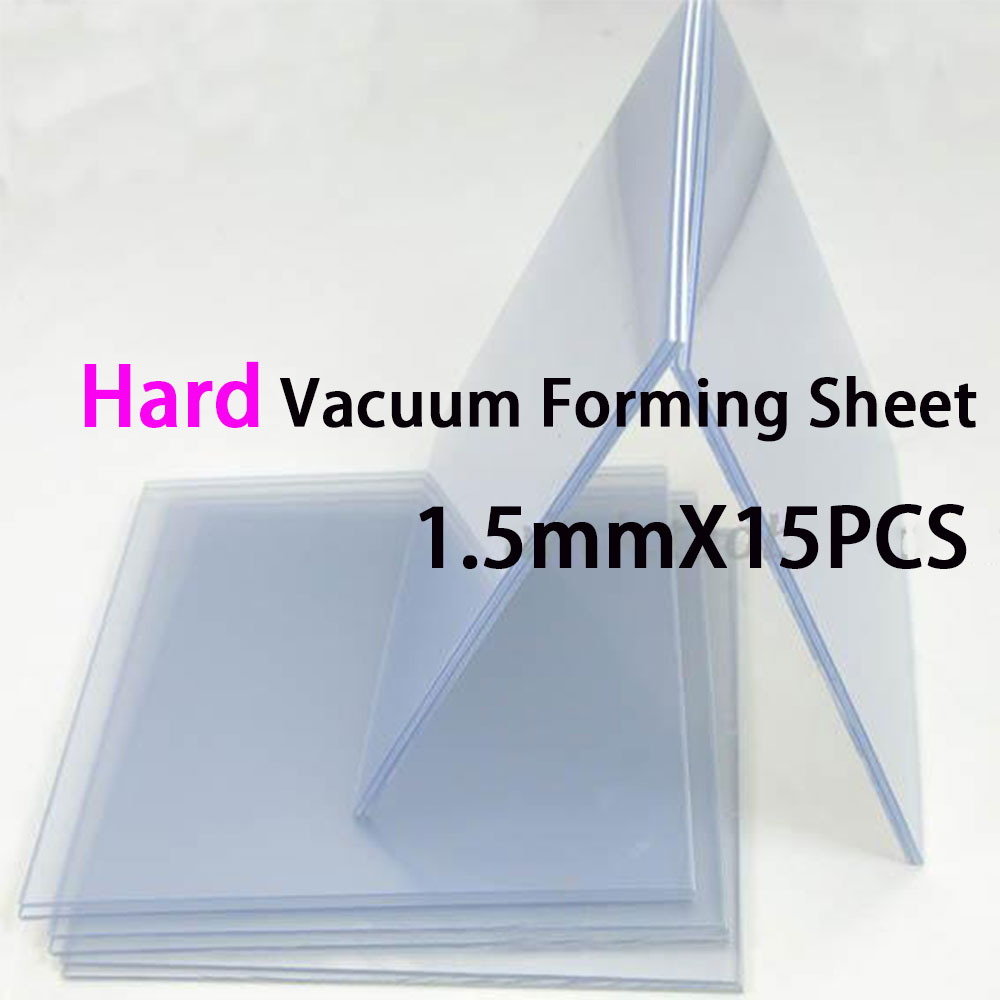 Dental Lab Vacuum Forming Machine Material Hard Sheet Eva 1.5mm 5*5 Size High Quality 15pcs Convenience Goods Beauty & Health Teeth Whitening