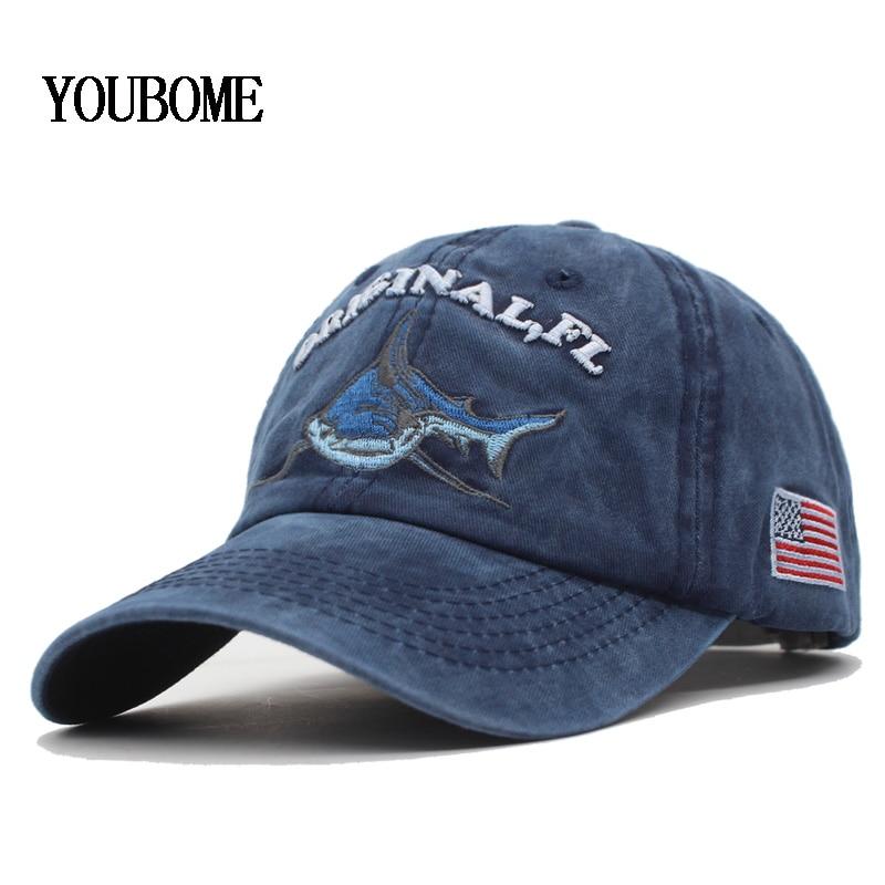 YOUBOME Baseball Cap Hats For Men Trucker Brand Snapback Caps Women Vintage Embroidery Casquette Bone Retro Dad Baseball Hat Cap