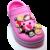 Mới lạ 1 pc Tsum TsumPVC Giày Quyến Rũ Giày Giày phụ kiện Giày trang trí Giày Khóa Phụ Kiện Phù Hợp Với Ban Nhạc Vòng Tay Cá Sấu JIBZ