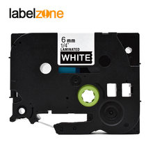 6 Mm Hitam Putih Tze-315 Kompatibel Brother P-touch Printer Tz315 Tz-315 TZ Tze315 Label Tape Pita untuk ptouch Pembuat Label(China)