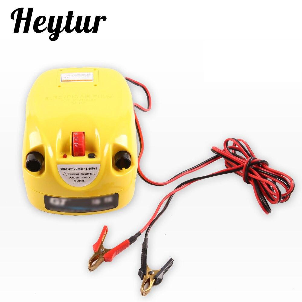 Haute qualité une seule étape de haute pression pompe électrique pompe à air pour gonflable sup kayaks et bateaux