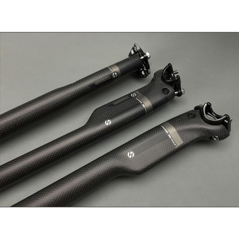 Carbon Mountainbike Rennrad Flachrohr Sattelstützenverbinder Sattelstütze