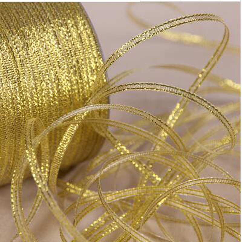 25Yards 22meter 3mm Width Material Glitter Organza Ribbons For Festive Party Decorative Gifts DIY Wrapping Packing Fabric Ribbon