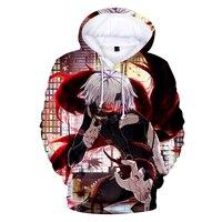 LUCKYFRIDAYF New 3D Tokyo Ghoul Hoodies Men and women Hip Hop Fun Autumn Streetwear Hoodies Sweatshirt For Couples Clothes Coats