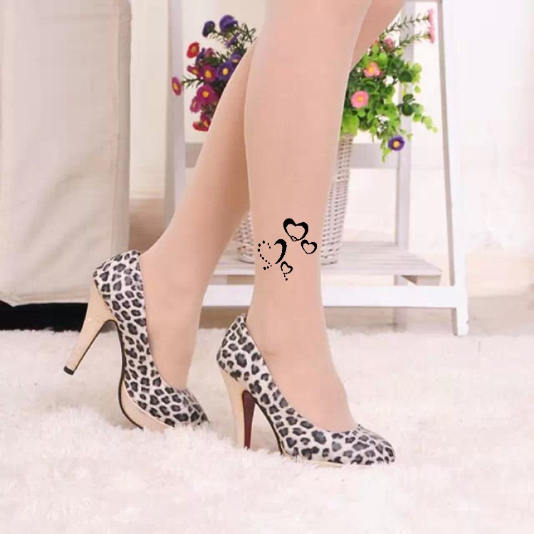 be0265167 Women Tights Real 2018 New Spring Summer Tattoo Stockings Pantyhose  Flocking Velvet Necklace Manufacturers Selling Fake Tattoos -in Tights from  Underwear ...
