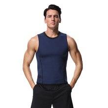 6ef04fbdc80 (Ship from US) Men Fat Burning Shaperwear Waist Sweat Vest Corset Weight  Loss Slimming Workout Thermal Muscle Underwear Shapers Fajas Top Women