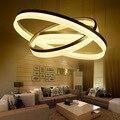 1/2/3 акриловый светодиодный потолочный светильник для дома  гостиной  спальни  ресторана  люстра  коммерческое декоративное освещение  потол...
