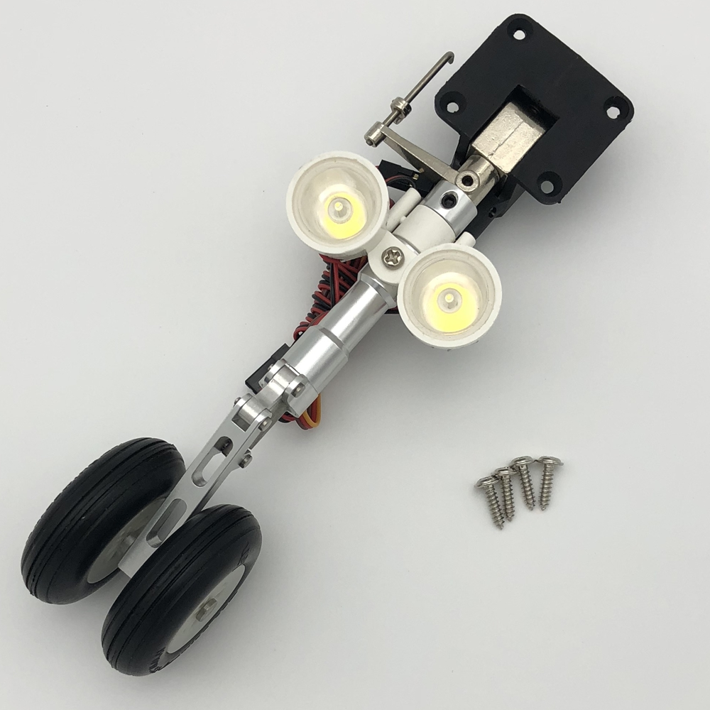 Nose landing gear with led lights for Freewing stinger 90mm EDF RC airplaneNose landing gear with led lights for Freewing stinger 90mm EDF RC airplane