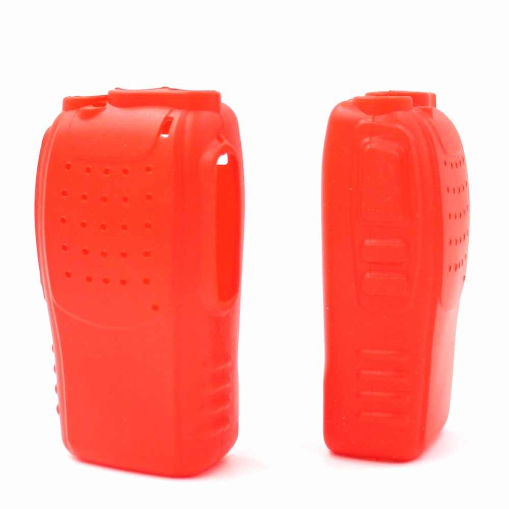 2 STUKS Radio Silicon Soft Case Cover Voor Walkie Talkie Baofeng BF-888S 777 S 666 S Draagbare Radio