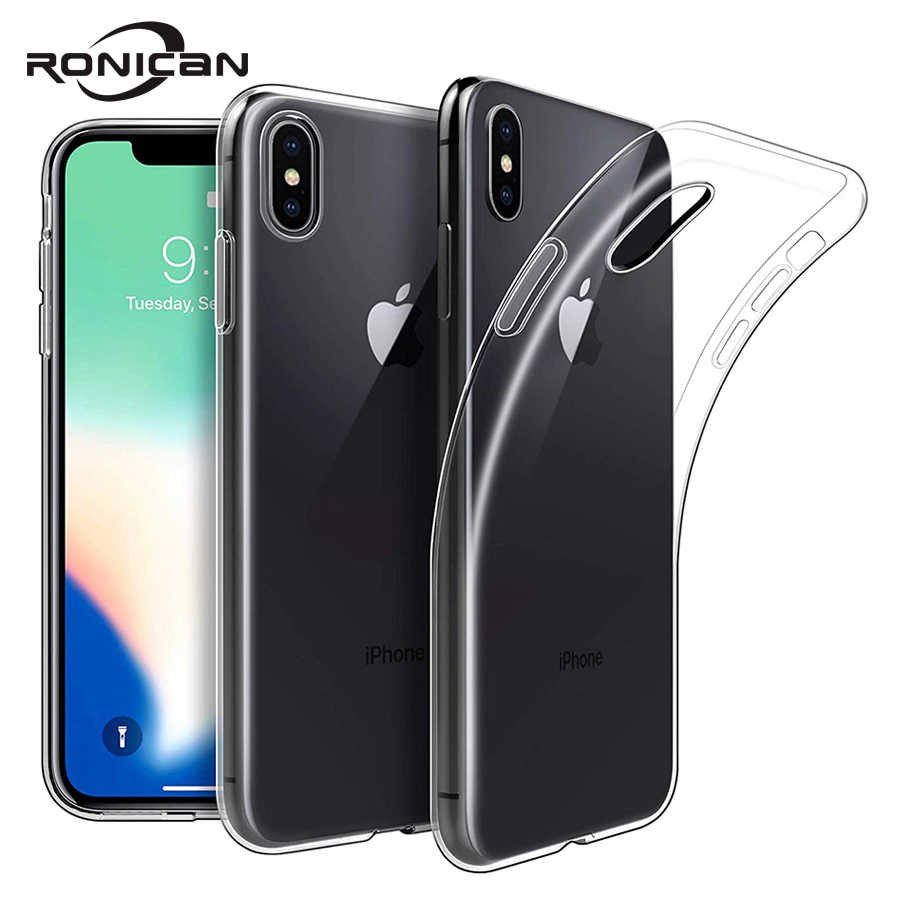 Weiche TPU Für iPhone XS Max Fall Klar Thin Cases Für iPhone XS MAX XR X 7 PLUS 8 6S 6 5 5s SE Fall Kristall Silikon Abdeckung fall