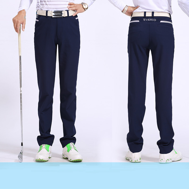 ФОТО golf pants men sports trousers brand male autumn pants dry quick anti-wrinkle for Korean style slim outdoor 5 colors pants