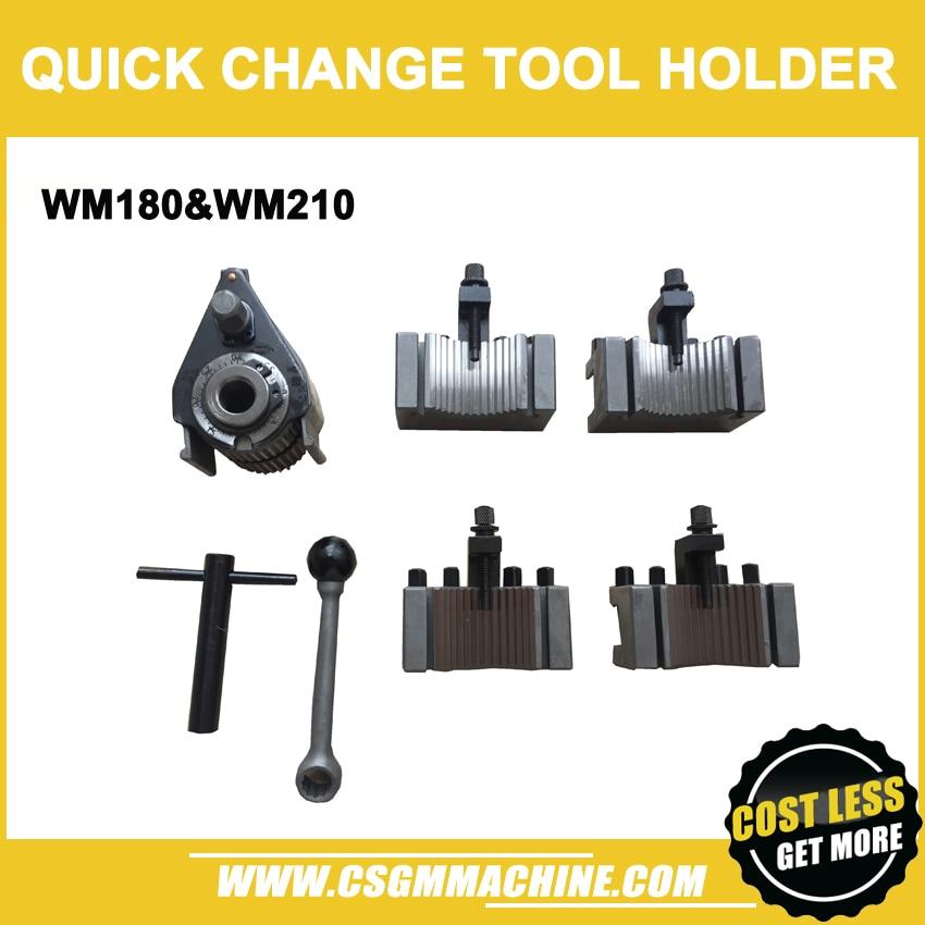 WM180&WM210 Quick Change Tool Holder