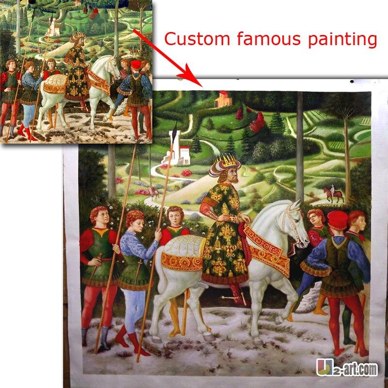 Высокое качество воспроизведения Классическая знаменитая картина маслом нестандартного размера от фото на холсте картинки для гостиной