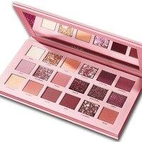 Manufacturers selling 18 colors desert rose eyeshadow sexy girl gold eyeshadow Fashion eye makeup powdery eyeshadow