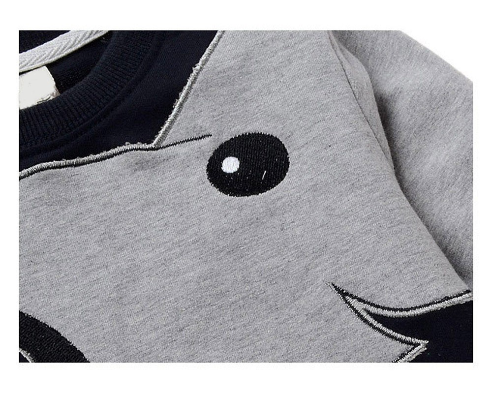 2015-Elephant-Pattern-Fleece-Long-Sleeves-Kids-Sweatshirts-Newborn-Boys-And-Girls-Black-Cloth-Children-Rompers-CL0744 (1)