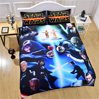 Queen King Size 3pcs Quilt Cover Pillow Case Australia Size Aavailable Star Wars 3D Bed Cover Literie Bedding Set Duvet Cover