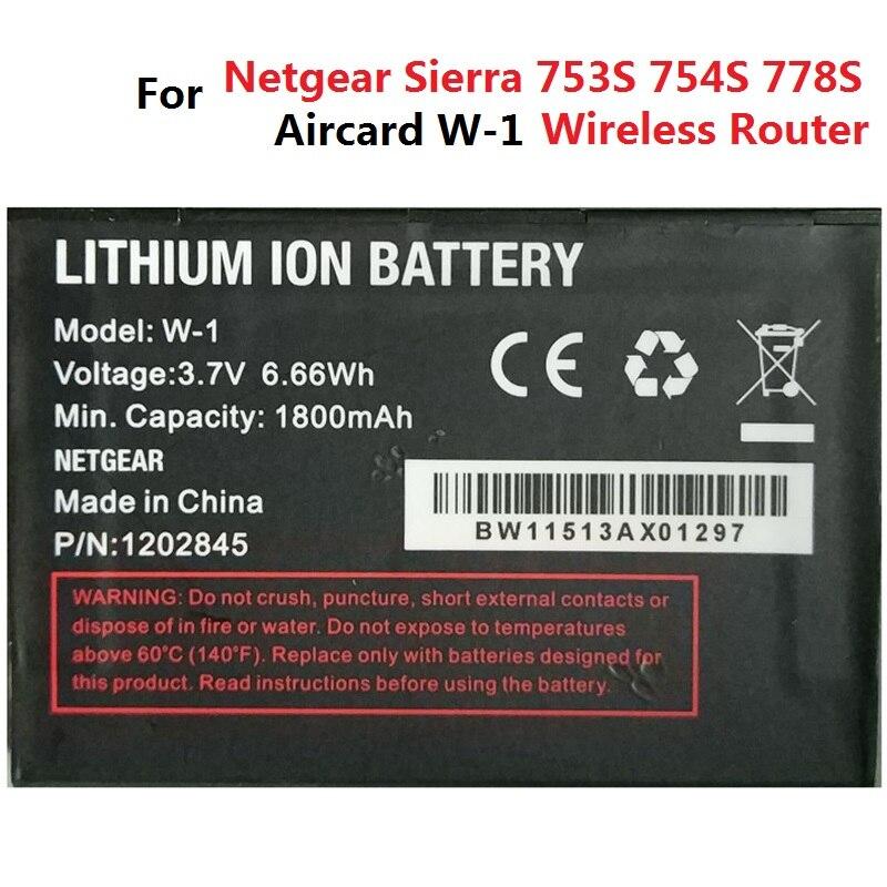 3.7 V Bateria para Netgear Sierra Wireless Aircard Roteador W-1 W-3 W-5 W-7 W-10 1800 mAh 2000 mAh 2500 mAh 2930 MaH 5040 mAh Acumulador