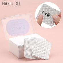 Lint-Free Nail Polish Remover Cotton Wipes UV Gel Tips Remover Cleaner Paper Pad Nails Polish Art Cleaning Manicure Tools