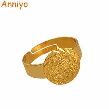 Ancien petit anneau de pièce de monnaie pour les femmes, taille libre pièces de monnaie fille moyen orient bijoux musulman islamique pièces de monnaie en gros arabe #139306