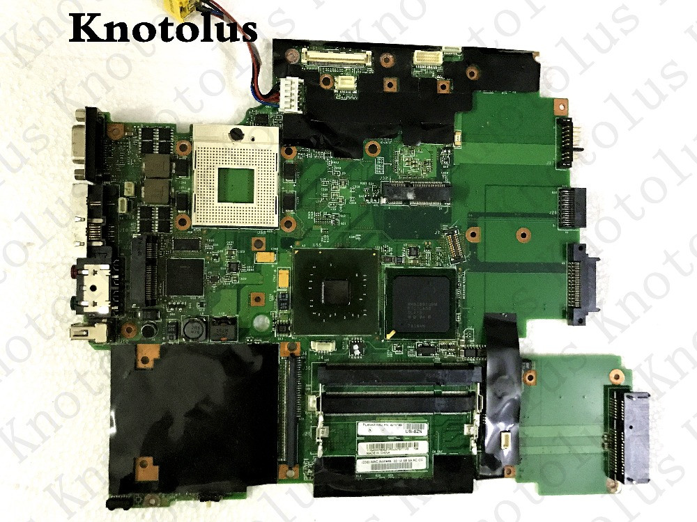 44c3712 42t0166 laptop <font><b>motherboard</b></font> for lenovo ibm thinkpad <font><b>t60</b></font> 15.4 laptop <font><b>motherboard</b></font> ddr2 gm945 Free Shipping 100% test ok image