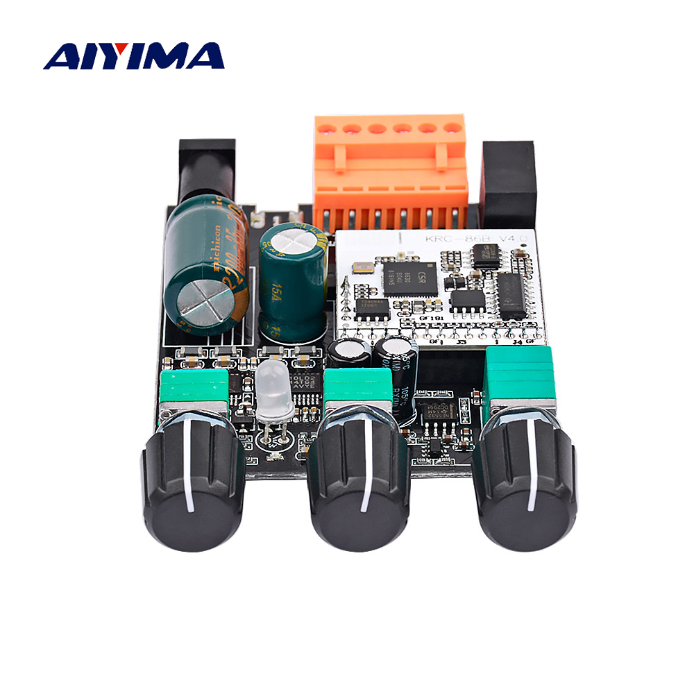 AIYIMA TPA3110 <font><b>2.1</b></font> <font><b>Bluetooth</b></font> Audio Amplifier Board 30W*2+60W TPA3118 Class D AUX BTL Stereo Amplifier for Active Speaker DIY image